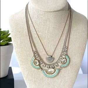 NWT Lucky Brand Multi Strand Necklace